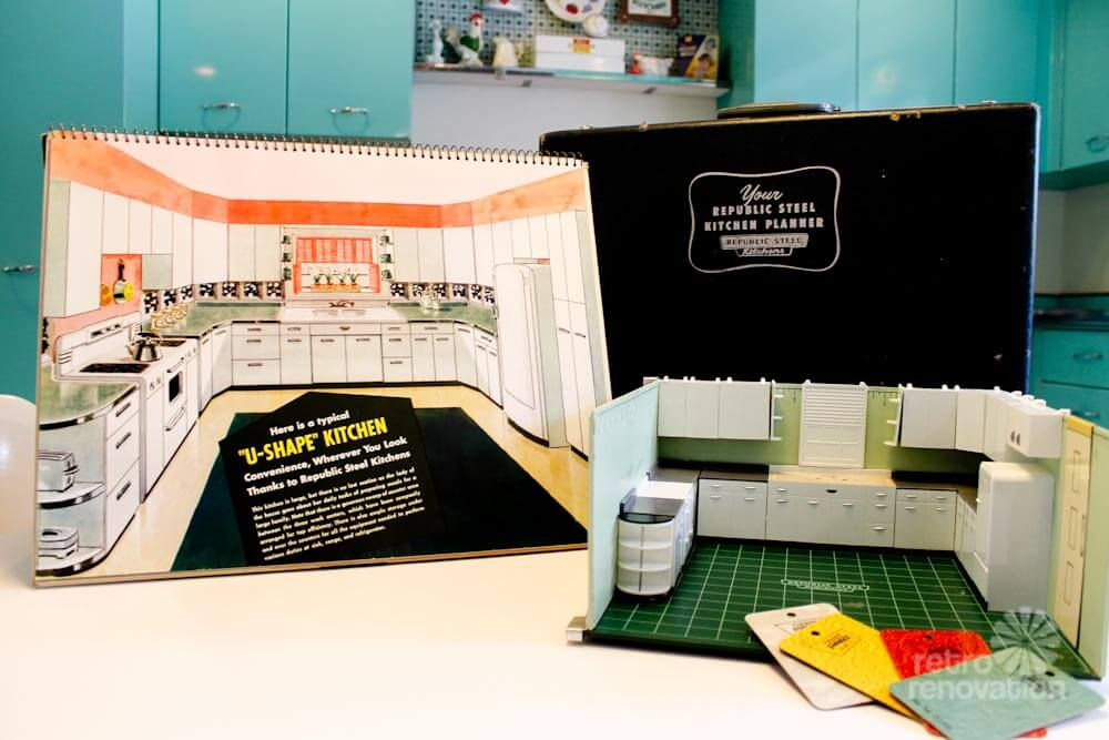steel kitchen cabinets salesmans kit