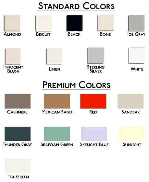 Americh-soaker-tub-color-chart