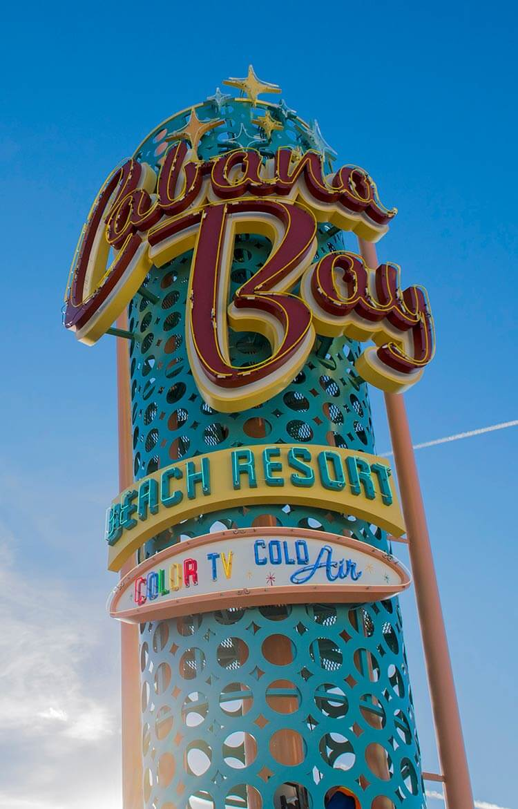 Cabana Bay Beach Resort Now Open Retro Theme Family