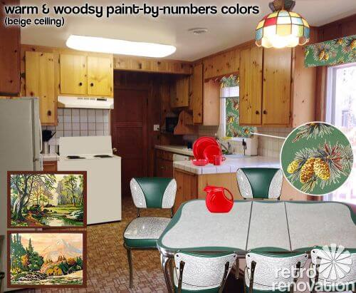 knotty-pine-kitchen