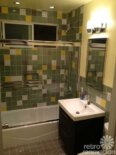 Craig and Mike's fast and affordable 1952 bathroom remodel