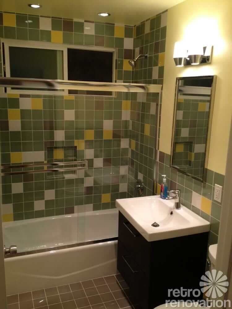 Fast Bathroom Remodel Beauteous Craig And Mike's Fast And Affordable 1952 Bathroom Remodel  Retro . 2017