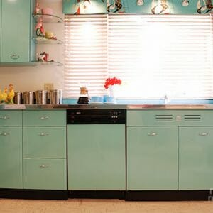 retro renovation pams kitchen