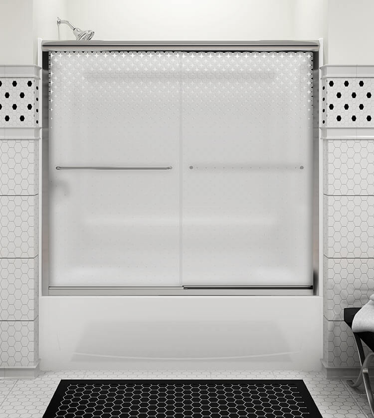 Sterling \'Starscape\' - a fun retro shower door for a midcentury ...