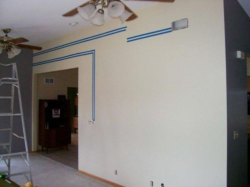 taping-off-wall-design
