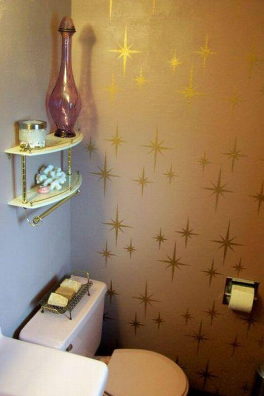 Retro wall stencils - patterns and tips from 8 reader