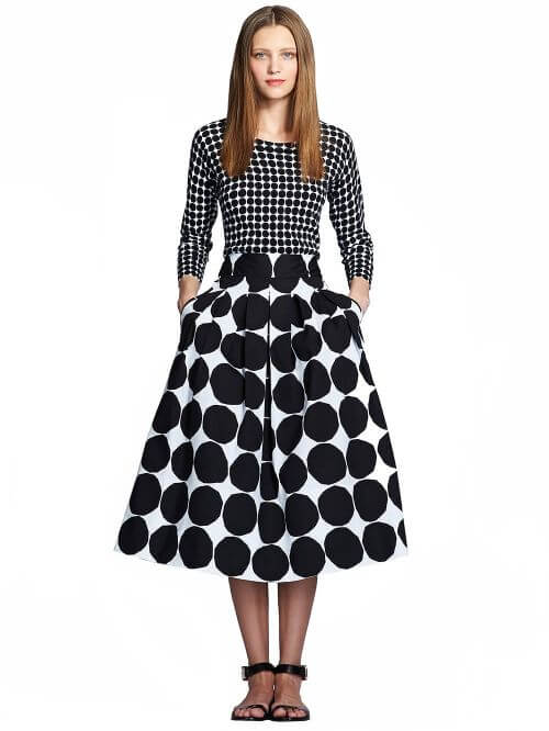Marimekko-skirt-polka-dot