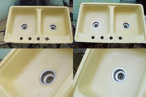 cleaning-up-vintage-kitchen-sink