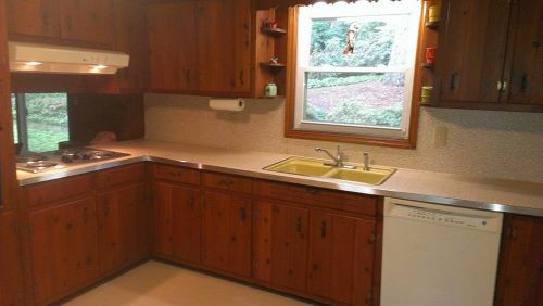 knotty-pine-kitchen-cabinets-retro