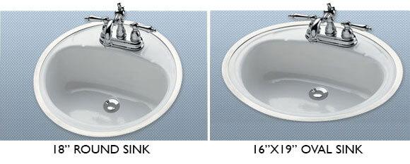 Retro Hudee Ring Sinks