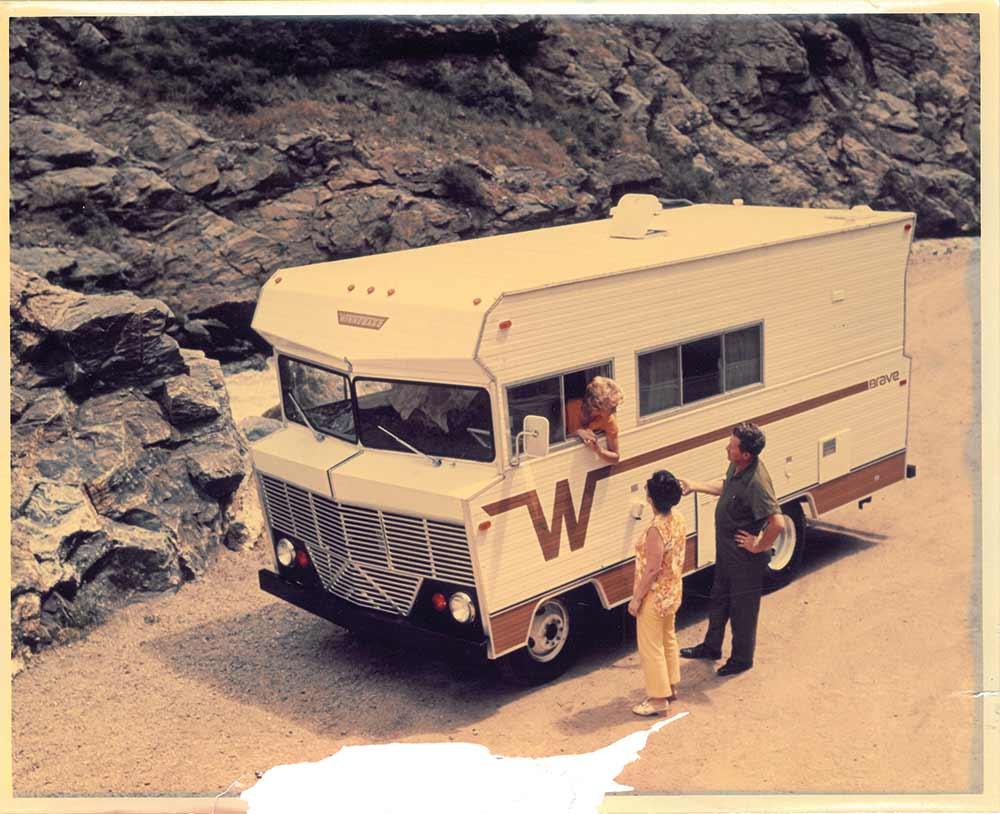 Vintage 1966-style Winnebago 'Brave' motor home - production begins