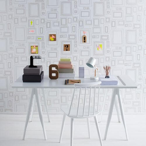 Graham & Brown wallpaper Frames-Gold