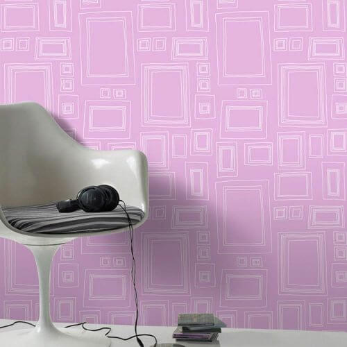 Graham & Brown wallpaper Frame-Pink