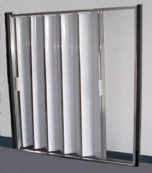 Accordion Style Folding Shower Door