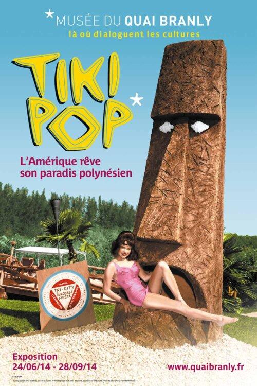 TIki Pop show poster