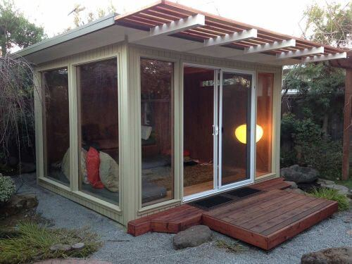 eichler shed turned into a room