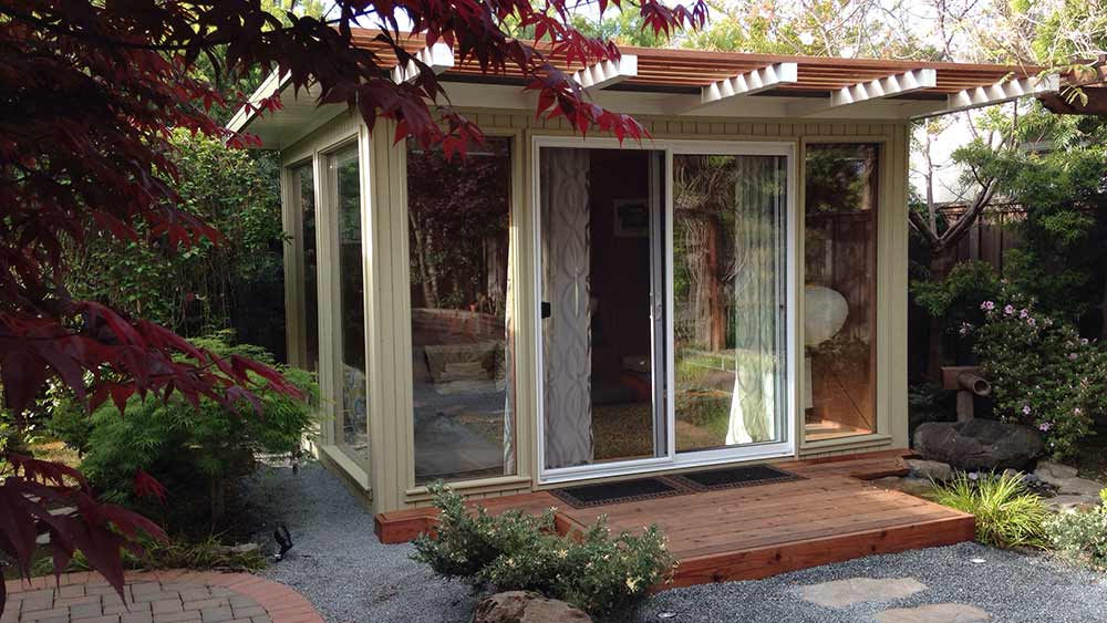 Sources For Midcentury Modern Sheds Prefab DIY Kits And - Prefab backyard office
