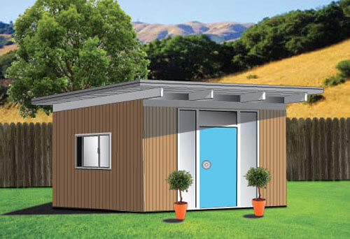 backyard eichler shed