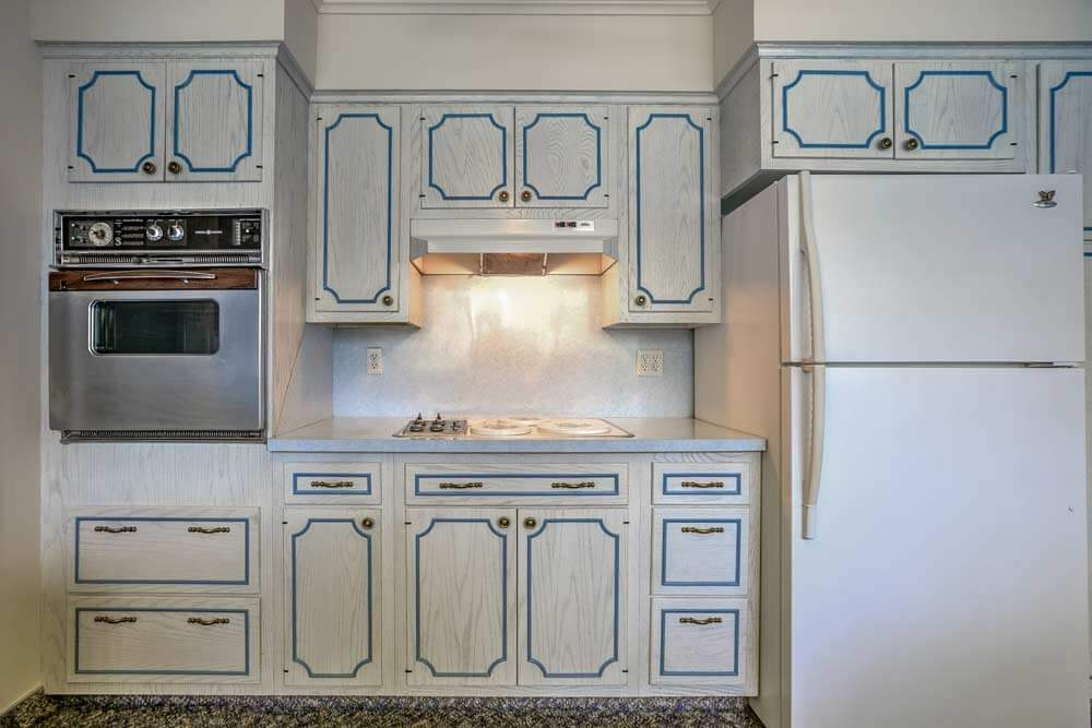 french provincial kitchen cabinets 1956 time capsule ranch house impeccably decorated in 3647