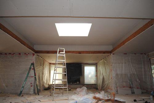 redrywalling-ceiling