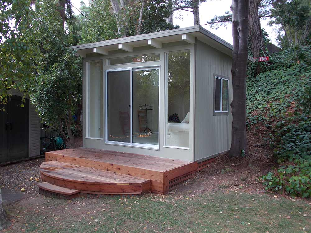 9 sources for midcentury modern sheds prefab diy kits for Cost of tiny house kits