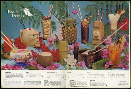Polynesian cocktails