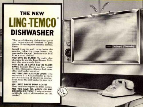 ling temco dishwasher