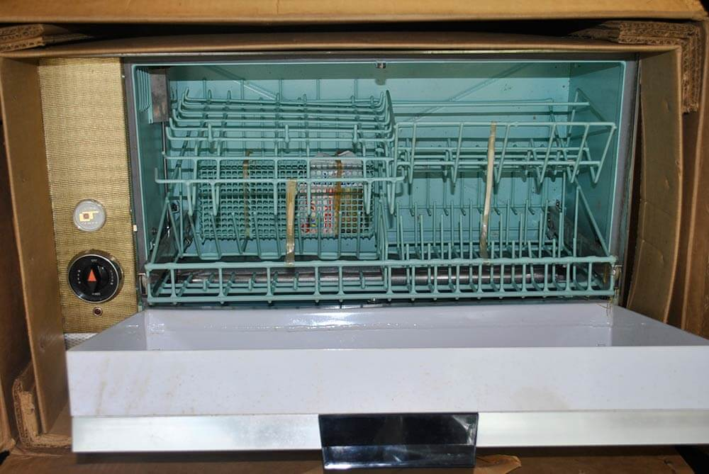 Rare Miniature Ling Temco Automatic Dishwasher New Old
