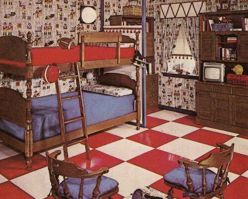 vintage ethan allen bicentennial chic