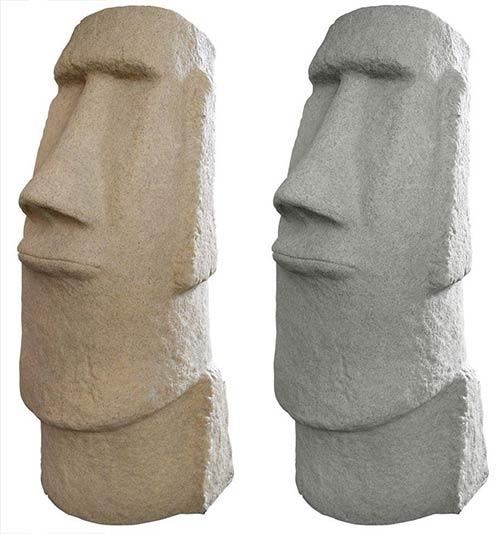 Resin Easter Island Head