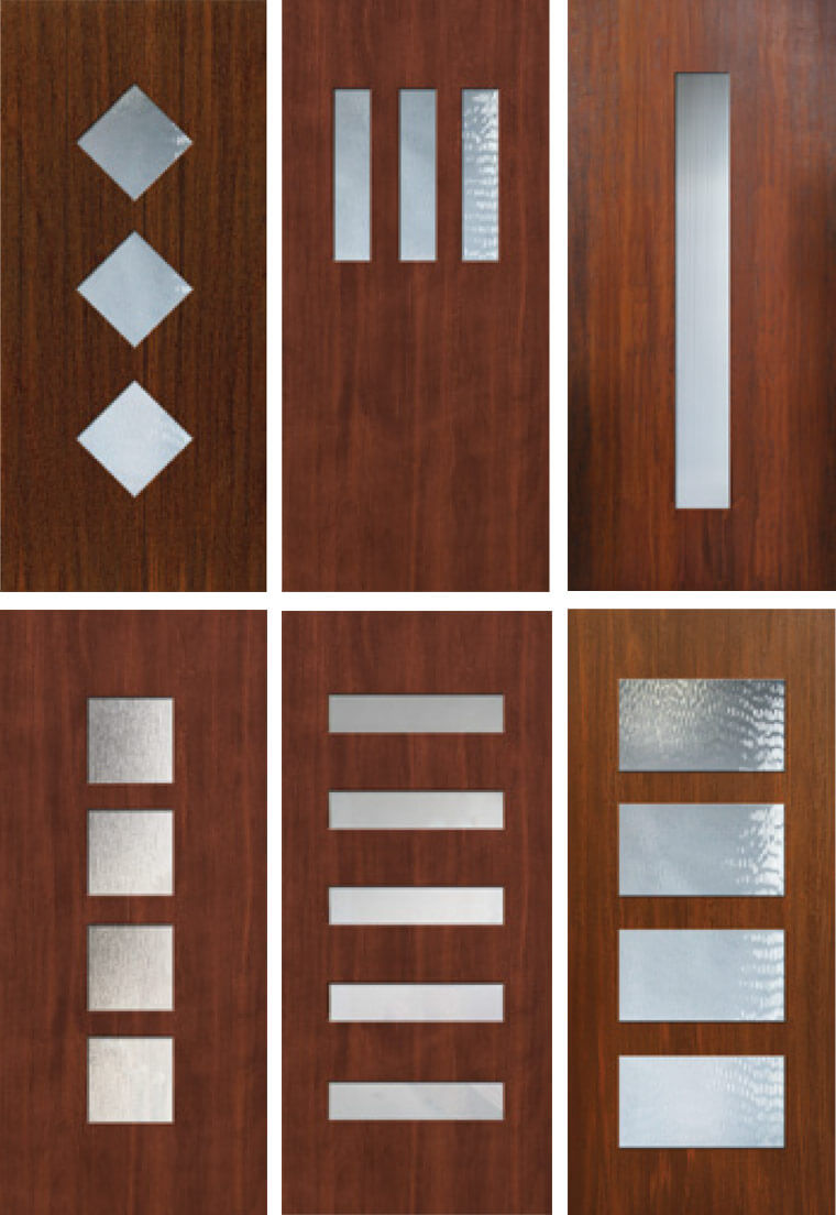 Doors galore 8 places to find midcentury modern entry for Modern exterior doors