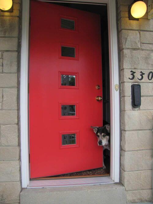 midcentury-front-door