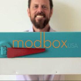 modbox mid century modern mailbox