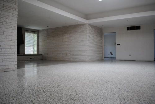 Mike And Lindsey Restore And Refinish Their Terrazzo