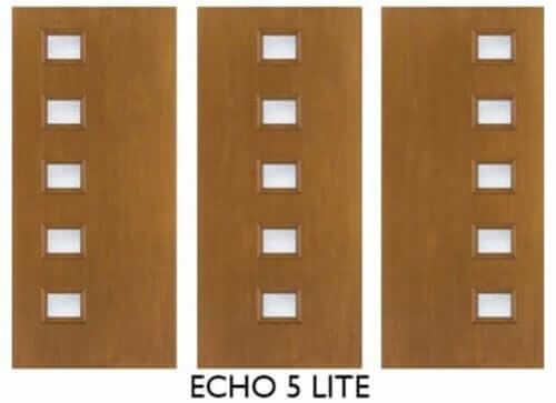 therma tru mid century modern doors