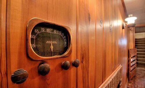 built in radio