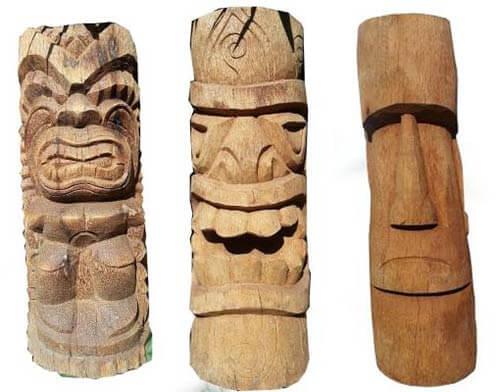 wood-tikis