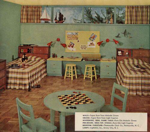 1956 bedroom sherwin williams