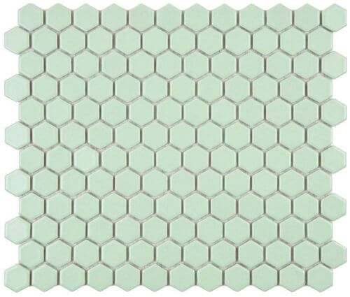 Merola-light-green-hex-mosaic-tile