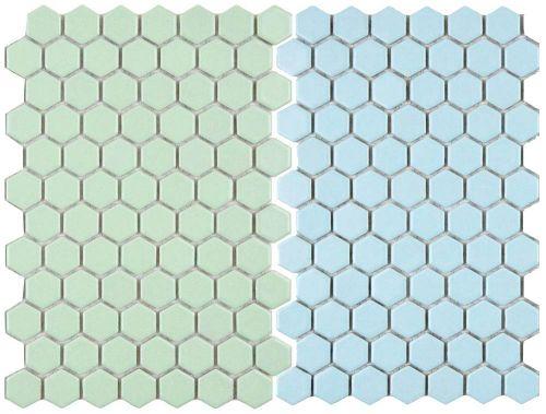 Pastel-hex-tile-mosaic