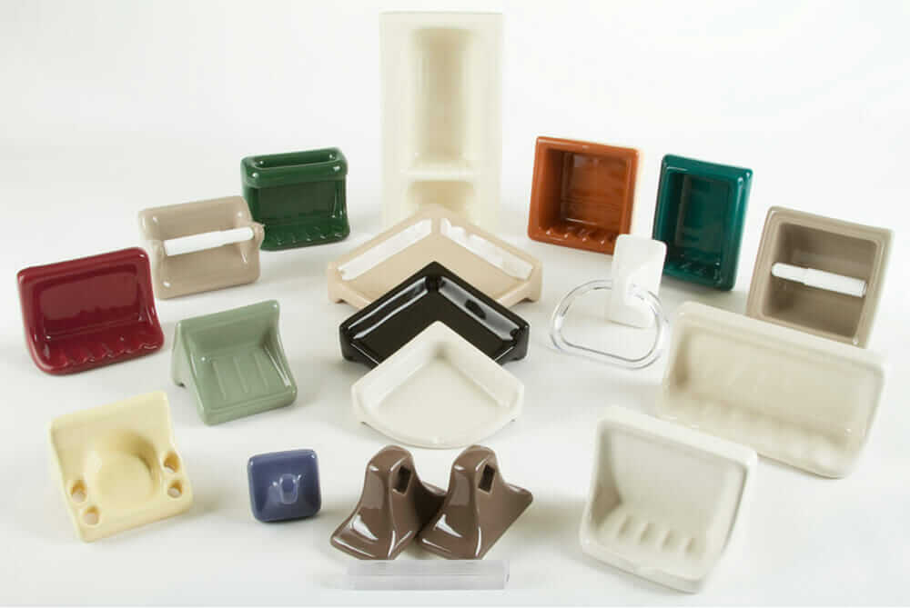 recessed ceramic bathroom accessories