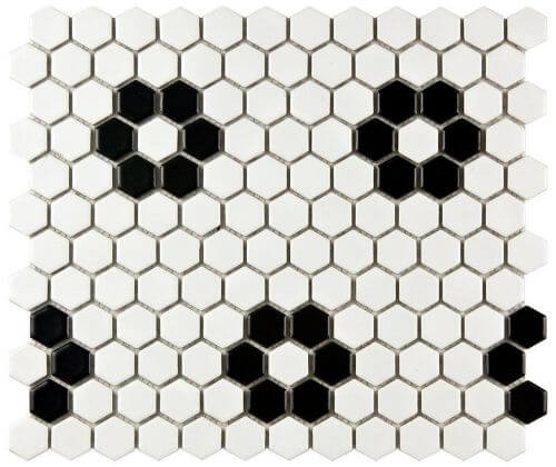 flower-black-hex-tile