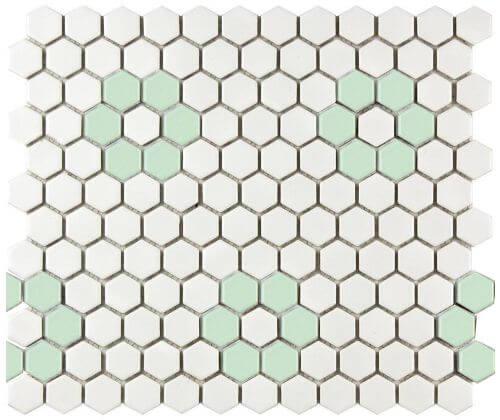 flower-green-hex-tile