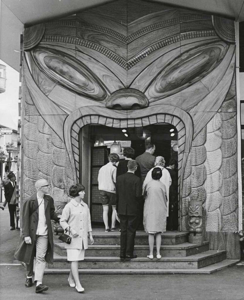 Copyright:Sven Kirsten/TASCHEN Caption: Seattle World's fair, 1962 Americans were consumed by Tiki