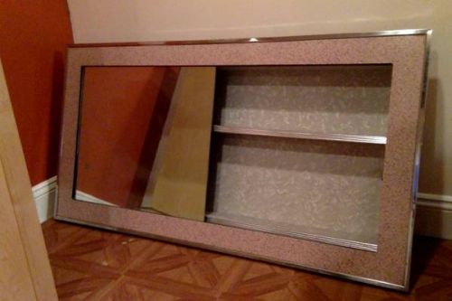 vanitory sliding mirror