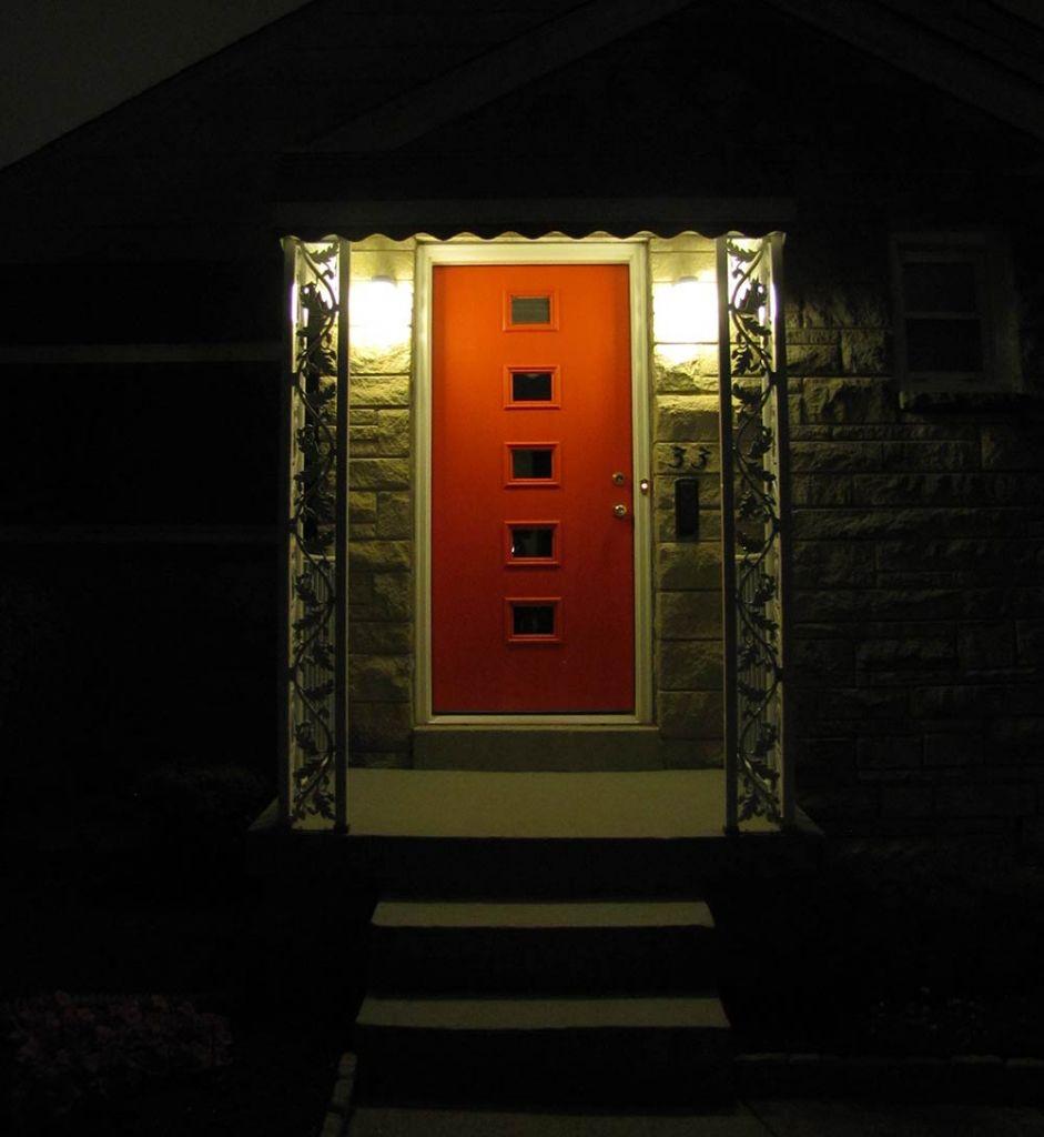 vintage-front-door-at-night