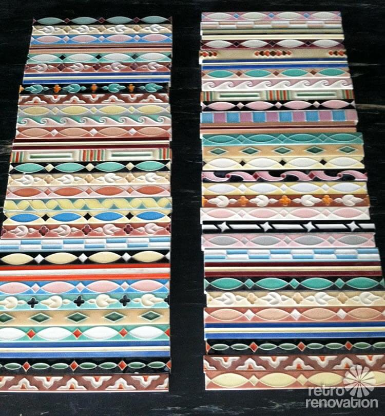 Where To Get Hand Painted Bathroom Liner Tiles 33