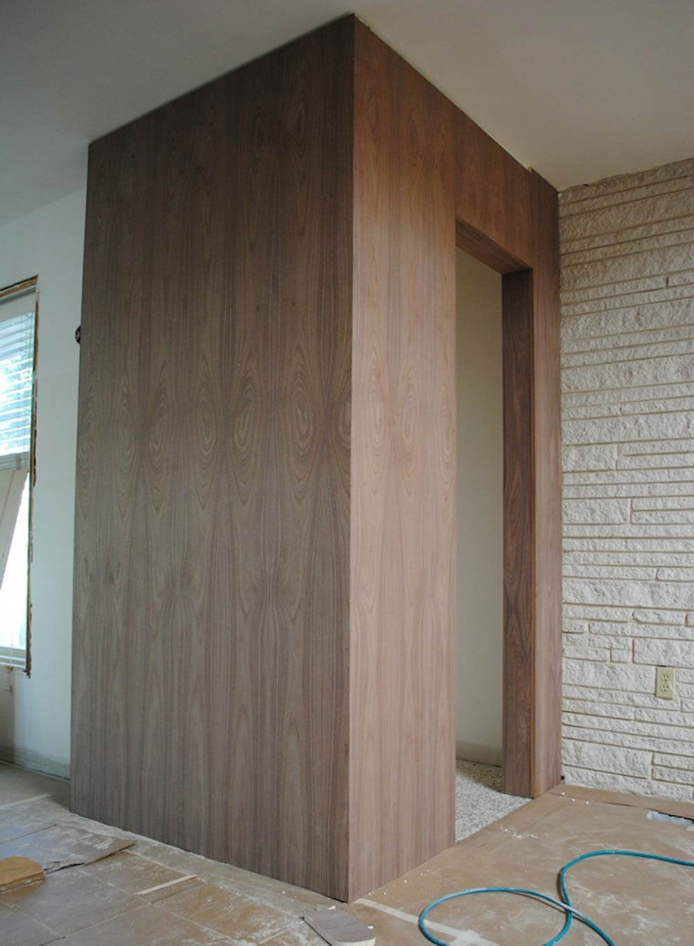 Midcentury modern doors galore inside mike and lindsey 39 s - Mid century modern doors ...