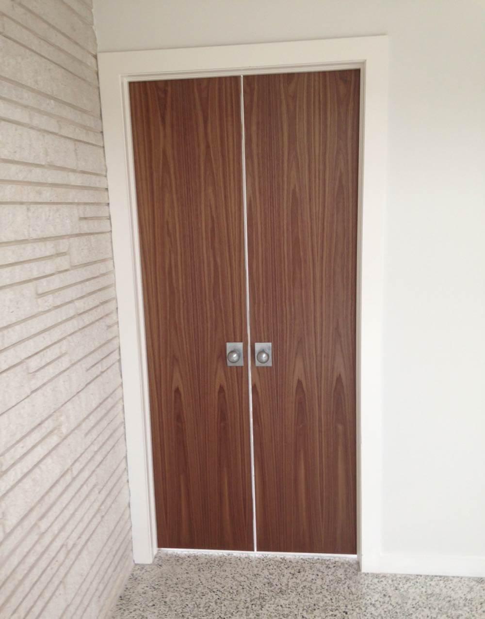 mid century modern closet doors. Beautiful Modern Midcentury Walnut Door With Mid Century Modern Closet Doors