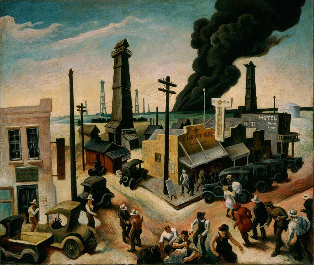 Thomas Hart Benton, Boomtown